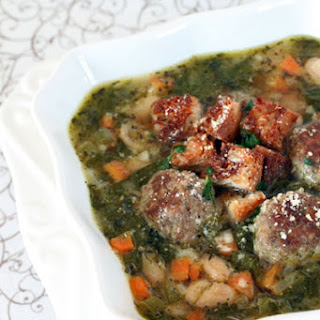 Italian Meatball Soup Chicken Broth Recipes