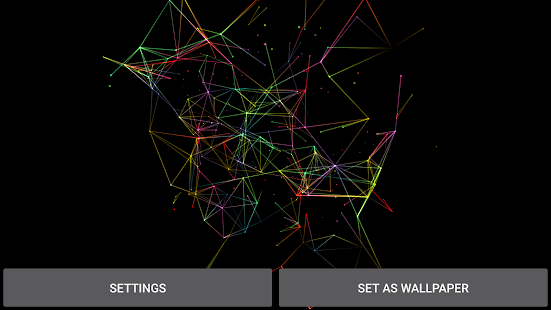 Particles Plexus 3D Wallpaper- screenshot thumbnail
