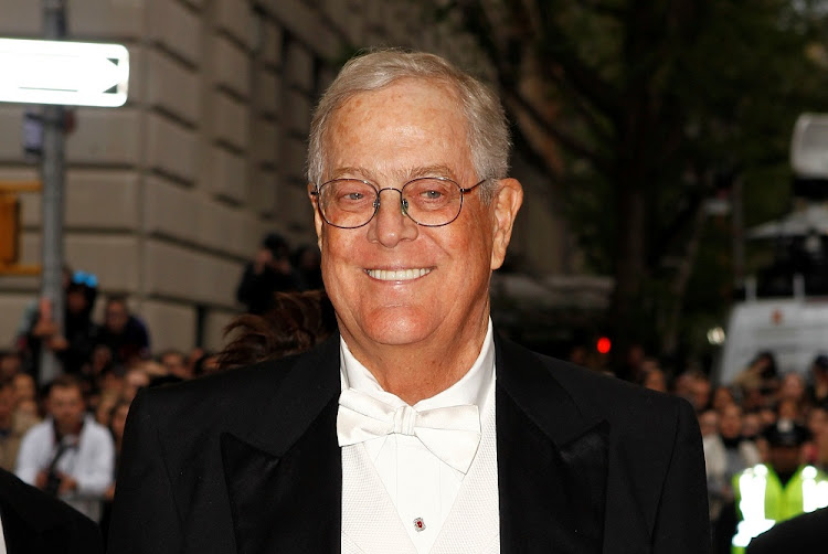 Charles Koch. Picture: REUTERS