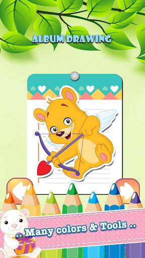 無料教育Appのベア動物園描画ぬりえ|記事Game