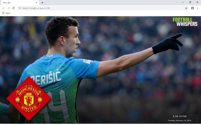 Ivan Perisic New Tab & Wallpapers Collection