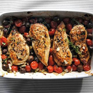 Mediterranean Chicken.