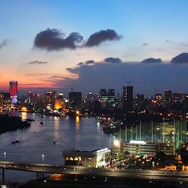 Good evening! Saigon by Beh Heng Long - City,  Street & Park  Skylines ( vietnam )