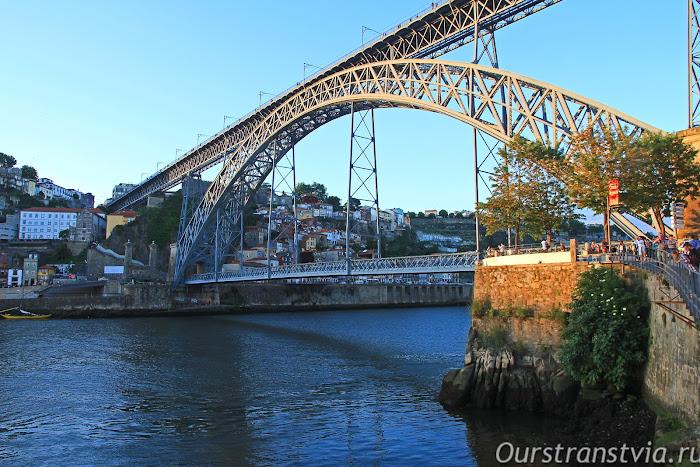 Мост Луиша I, Порту
