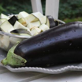 Vegan Charred Eggplant Potato Curry Recipe