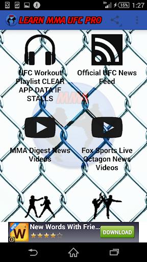 Learn MMA UFC Pro