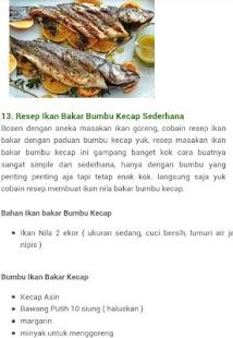 Resep Aneka Masakan Ikan - náhled
