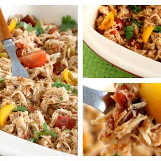 Crock Pot Shredded Mexican Chicken.