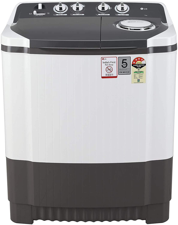 LG 7 Kg P7020NGAY Semi-Automatic Washing Machine