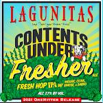 Lagunitas Contents Under Fresher