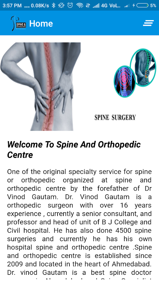 Spine And Orthopedic Centre- screenshot