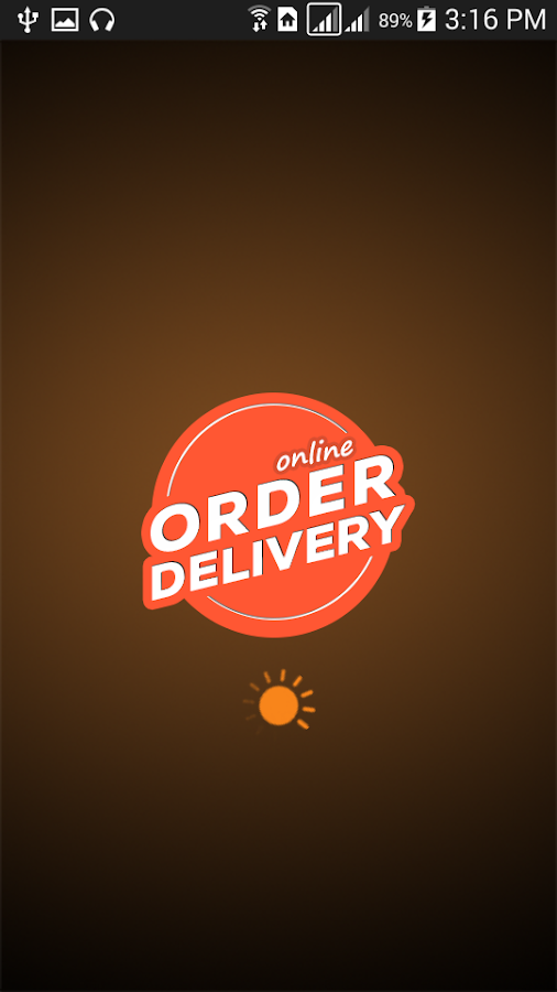 Online Order Delivery- screenshot