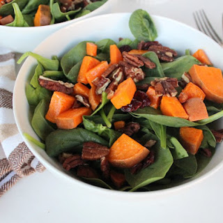 Simple Fall Salad {Side Dish or Entree!}
