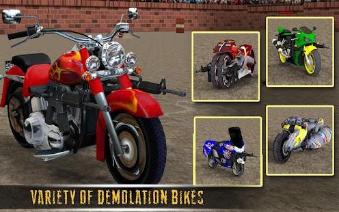 Demolition Derby Bike Racing Crash Stunts War Android Apps On