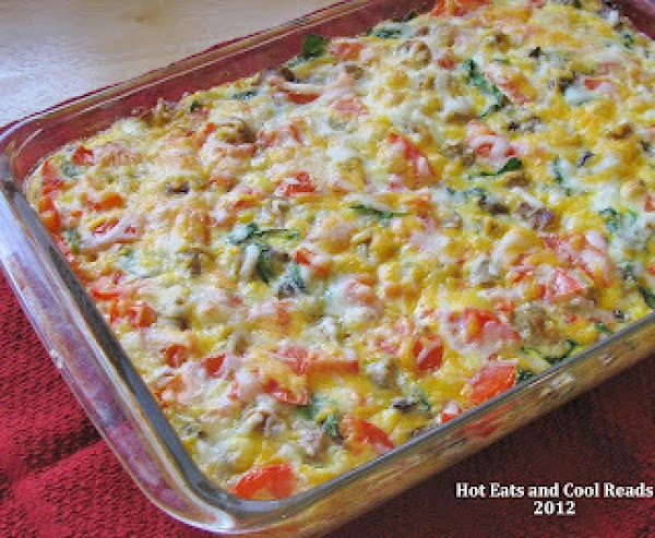 Tomato-egg-and Sausage Bake By Sheena Recipe