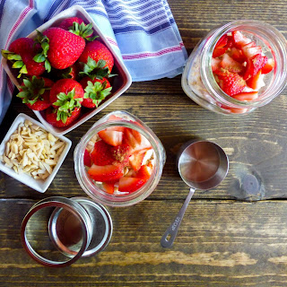 Berry Cherry Overnight Oats Recipe