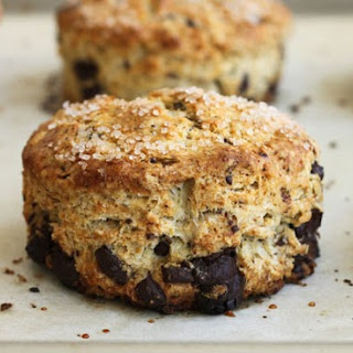 Dark Chocolate Espresso Scones.