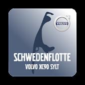 Schwedenflotte Volvo XC90 Sylt