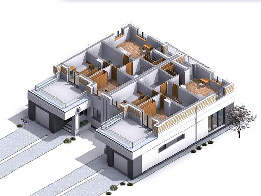 Oliwkowy - Rzut piętra 3D