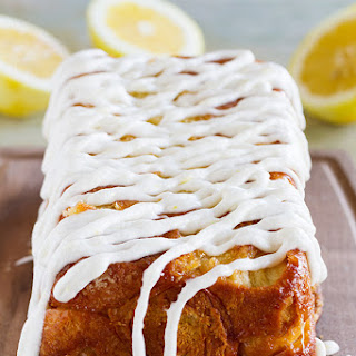 Lemon Roll Pull-Apart Bread