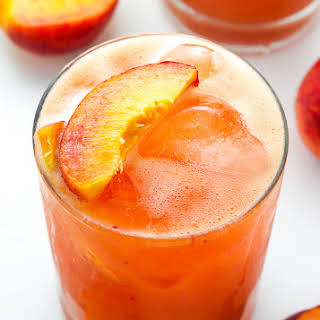 Fresh Peach Margaritas.