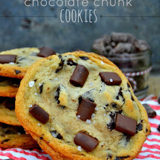 XXL Brown Butter Vanilla Bean Chocolate Chunk Cookies
