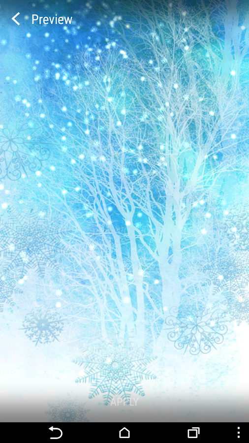 live wallpapers winter snow android apps on google play