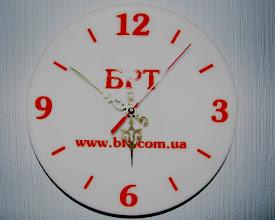 Photo: Часы из акрила. Форма и размер - любые!