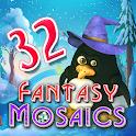 Fantasy Mosaics 32: Santa's Hut icon