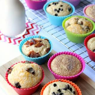 Easy Baked Pancake Muffins.
