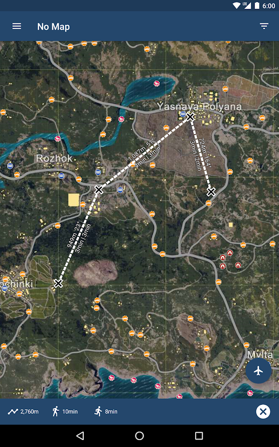 Map & Planepath for PUBG- screenshot