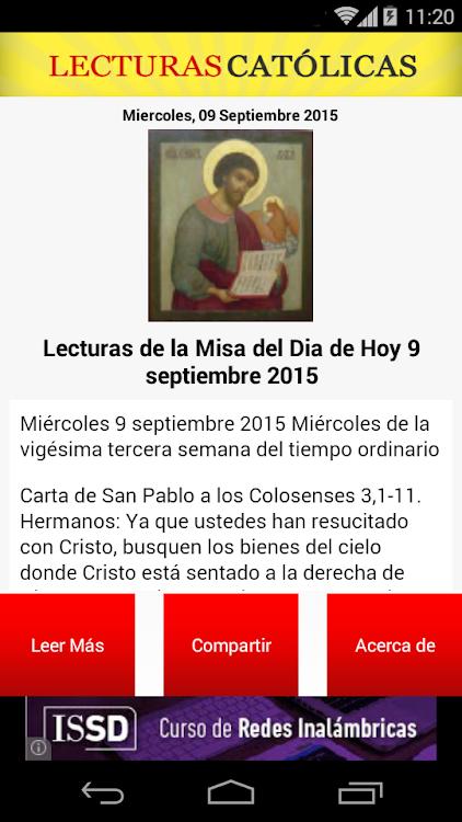 Lecturas Católicas Android Aplicaciones Appagg