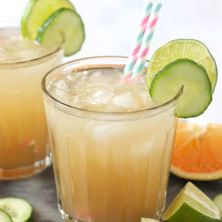 Grapefruit Cucumber Paloma.