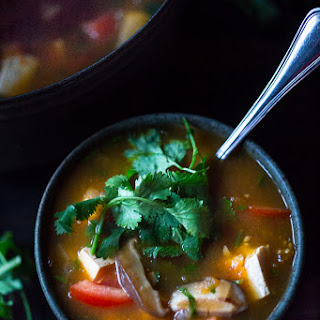 Vietnamese Hot and Sour Soup.