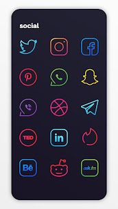 Caelus Icon Pack – Colorful Linear Icons v4.0.4 [Patched] 4