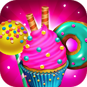 Candy Dessert Bakery Store - Make & Cook Bake Game icon