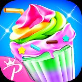 Ice Cream Milkshake Maker-Ice Dessert Sweet Games Android APK Download Free By PrincessMe