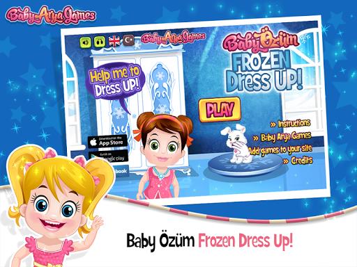 Baby Özüm Frozen Dress Up