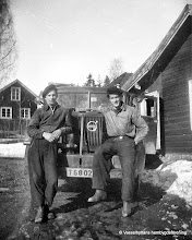 Photo: Lillebo. Gunnar Persson och Gösta Andersson 1940 tal