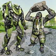 US Army Robot Gorilla Rampage – Gorilla Attack 3D
