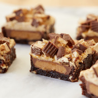 Peanut Butter Cup Snickers™ Brownies.