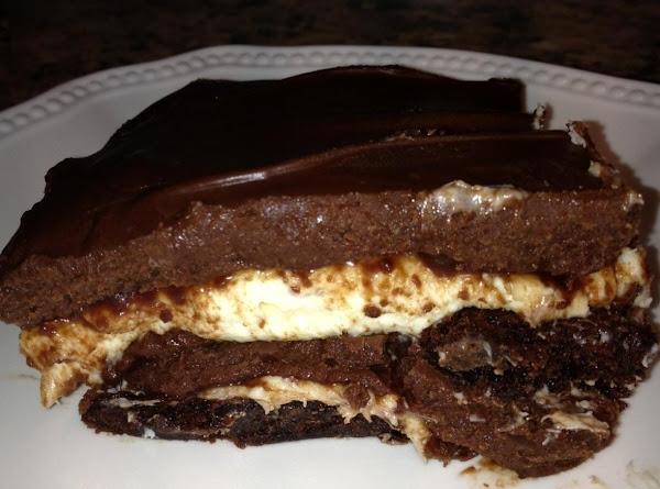 Brownie Bottom Cheese Cake Recipe