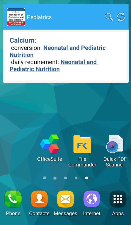 Pediatrics & Neonatology Book- screenshot