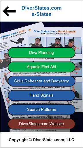 Screenshot for DiverSlates Scuba eSlates in United States Play Store