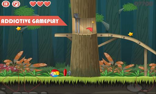 Red ball jump 4 Vol 2: Red Adventure ball 1.0.1 {cheat|hack|gameplay|apk mod|resources generator} 5
