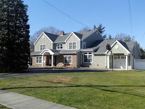 Photo: New Construction Massapequa, NY. It was supposed to be a dormer, but the studs were termite damaged so....... down with the old and up with the new!