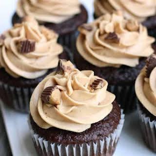 Reese's Peanut Butter Cupcakes.