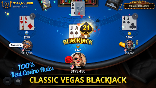 Blackjack Championship android2mod screenshots 1