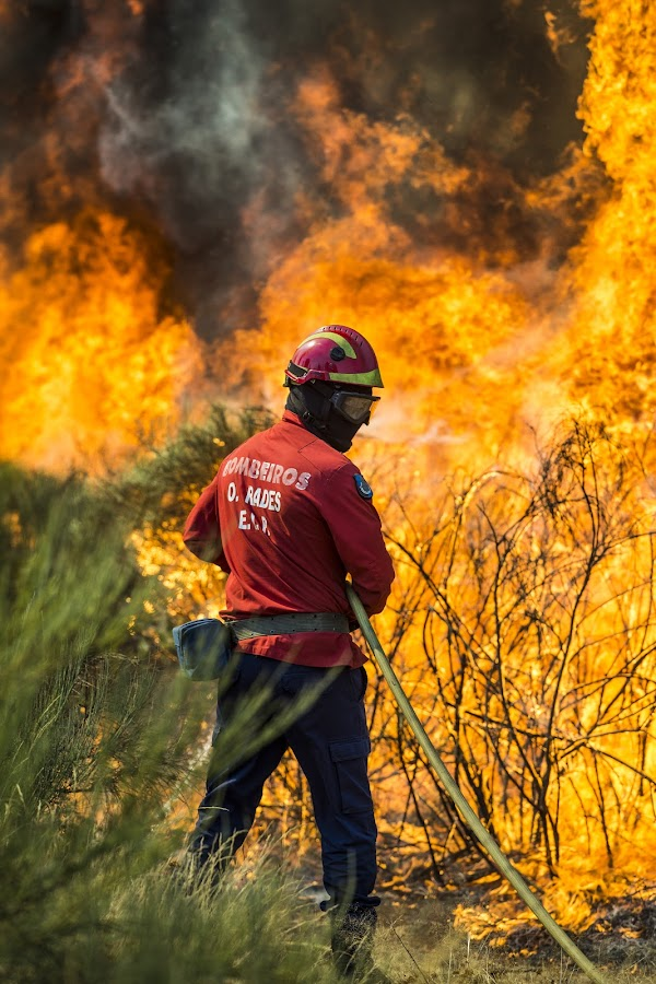 Firefighter Portugal by Cristiano Bento - Professional People Military