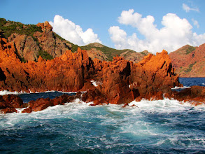 Photo: #013-La réserve de Scandola en Corse, classée au Patrimoine mondial de l'Unesco.